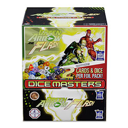 DC Dice Masters Green Arrow and The Flash: Foil Pack