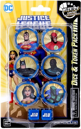 DC HeroClix: Justice League Unlimited Dice and Tokens