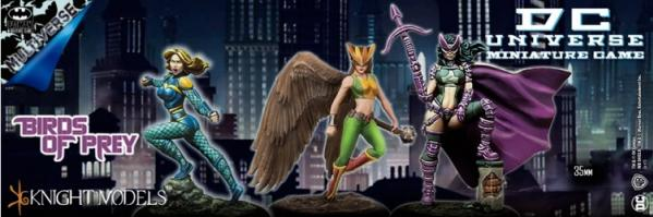 DC Universe Miniature Game: BIRDS OF PREY