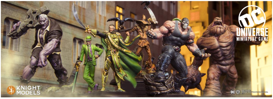 DC Universe Miniature Game: Batman's Villains