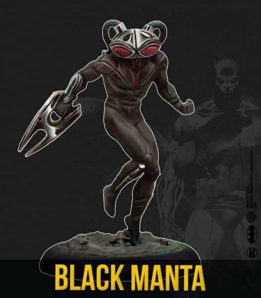 DC Universe Miniature Game: Black Manta