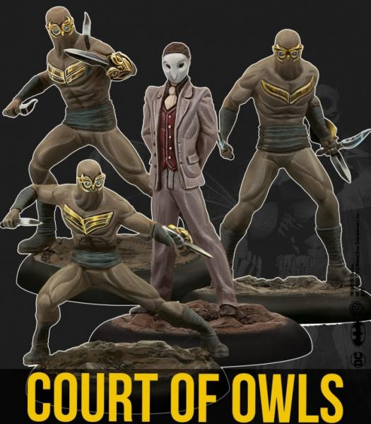 DC Universe Miniature Game: Court Of Owls