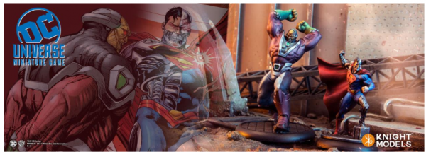 DC Universe Miniature Game: Cyborg Superman & Mongul