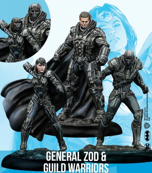 DC Universe Miniature Game: General Zod & Guild Warriors