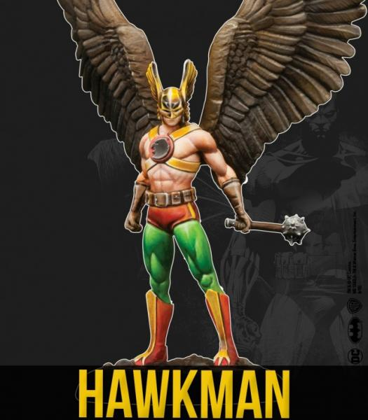 DC Universe Miniature Game: Hawkman (MV)