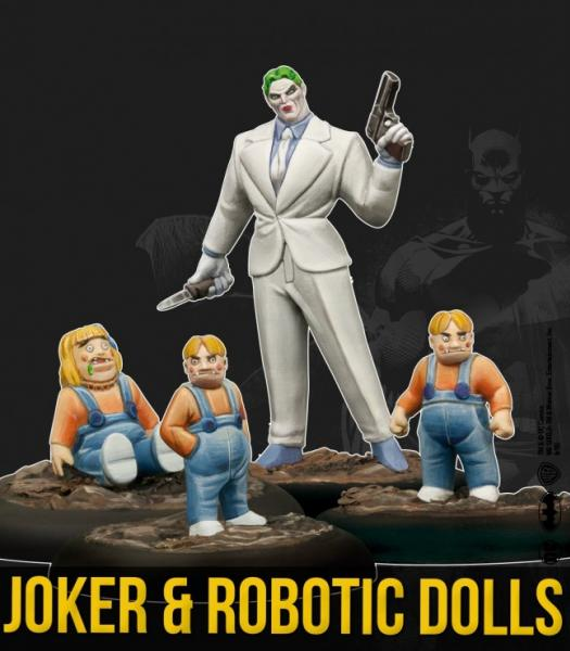 DC Universe Miniature Game: Joker and Robotic Dolls