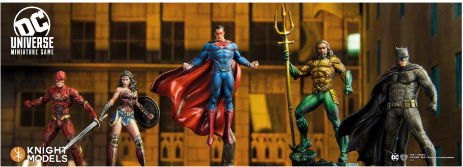 DC Universe Miniature Game: Justice League