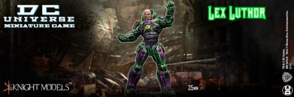 DC Universe Miniature Game: Lex Luthor (Warsuit)