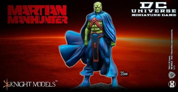 DC Universe Miniature Game: MARTIAN MANHUNTER