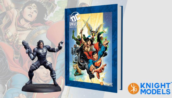 DC Universe Miniature Game: Rulebook w/ Limited Edition Figure (HC)