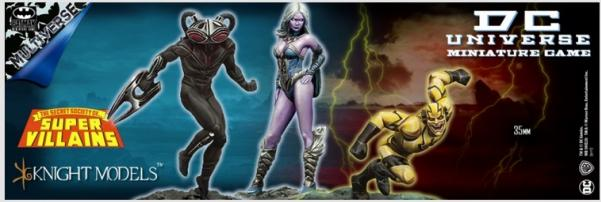 DC Universe Miniature Game: SECRET SOCIETY OF SUPERVILLAINS (Multiverse)