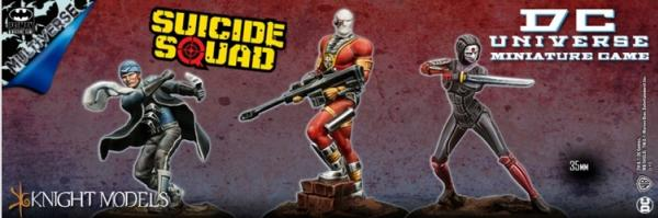 DC Universe Miniature Game: SUICIDE SQUAD SET (Multiverse)