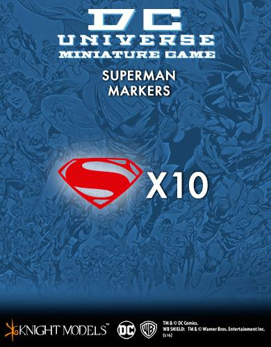DC Universe Miniature Game: SUPERMAN MARKERS