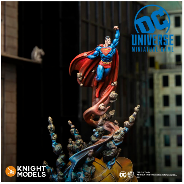 DC Universe Miniature Game: Superman (2019 super sculpt)