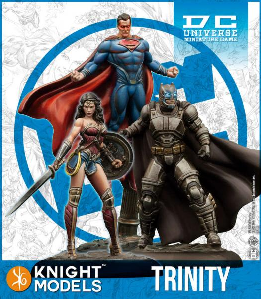 DC Universe Miniature Game: Trinity (Resin)