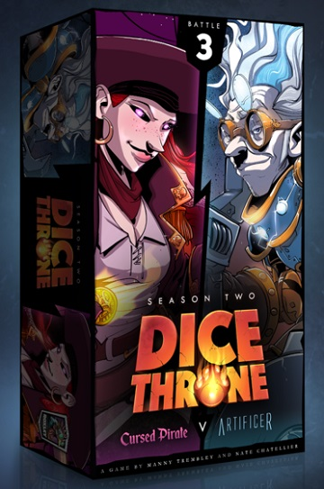 Dice Throne Season 2: Battle 3 - Artificer and Pirate [Damaged]