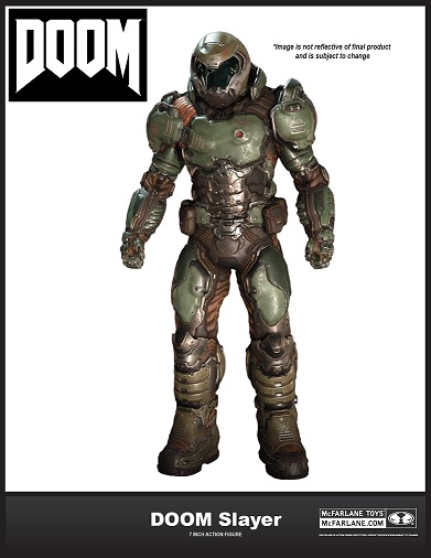 "DOOM 7"" Figure: DOOM Slayer"