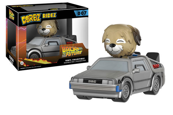 DORBZ Ridez 007: Back To The Future- Delorean With Einstein