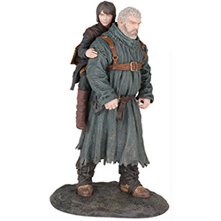 "Dark Horse Deluxe- Game of Thrones 8"" Figure: HODOR & BRAN"