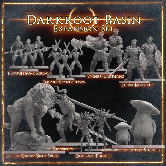 Dark Souls: Darkroot Basin Expansion Set