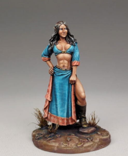 Dark Sword Miniatures: Elmore Masterwork: Female Elven Mage