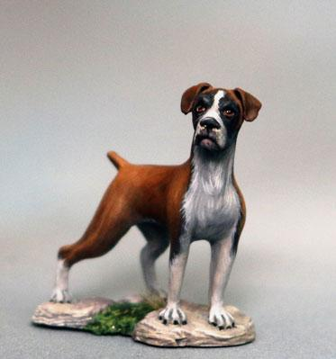 Dark Sword Miniatures: Visions in Fantasy: Boxer Dog