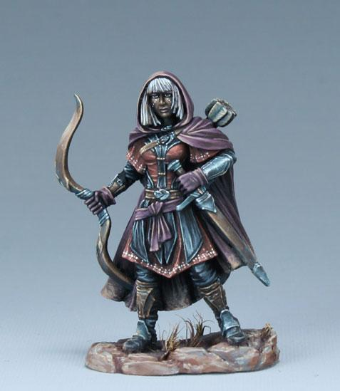 Dark Sword Miniatures: Visions in Fantasy: Female Ranger with Bow (2019)