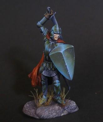 Dark Sword Miniatures: Visions in Fantasy: Male Warrior with Sword and Shield