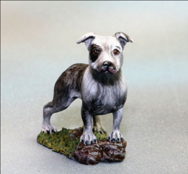 Dark Sword Miniatures: Visions in Fantasy: Pitbull Dog