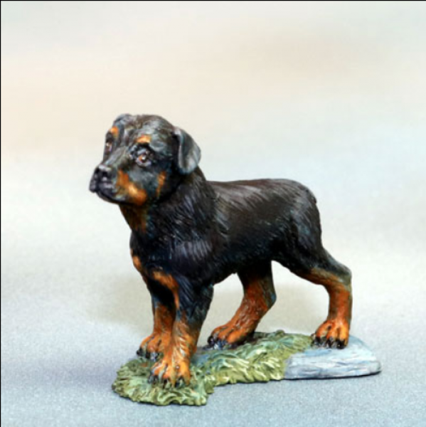 Dark Sword Miniatures: Visions in Fantasy: Rottweiler Dog