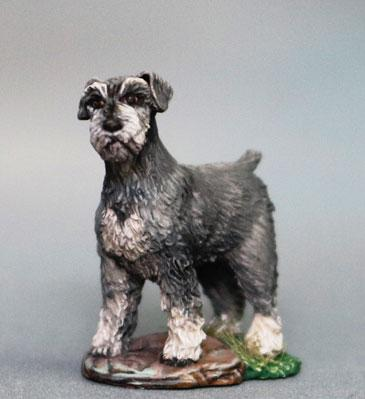 Dark Sword Miniatures: Visions in Fantasy: Schnauzer Dog