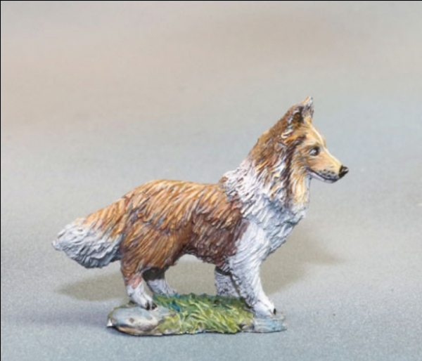 Dark Sword Miniatures: Visions in Fantasy: Sheltie Dog