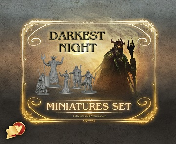 Darkest Night (2nd Edition): Miniatures Set