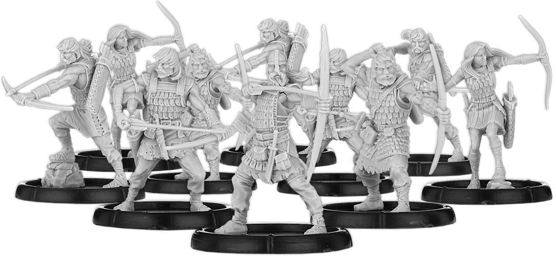 Darklands: Bowmen of Scirbroc, Ceorl Bowman Unit (with Command)