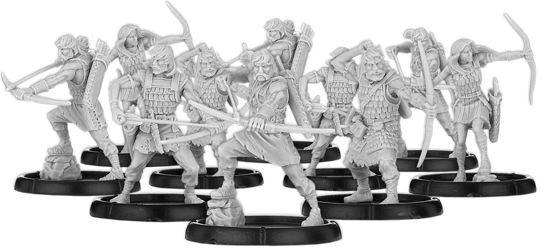 Darklands: Bowmen of Scirbroc, Ceorl Bowman Unit