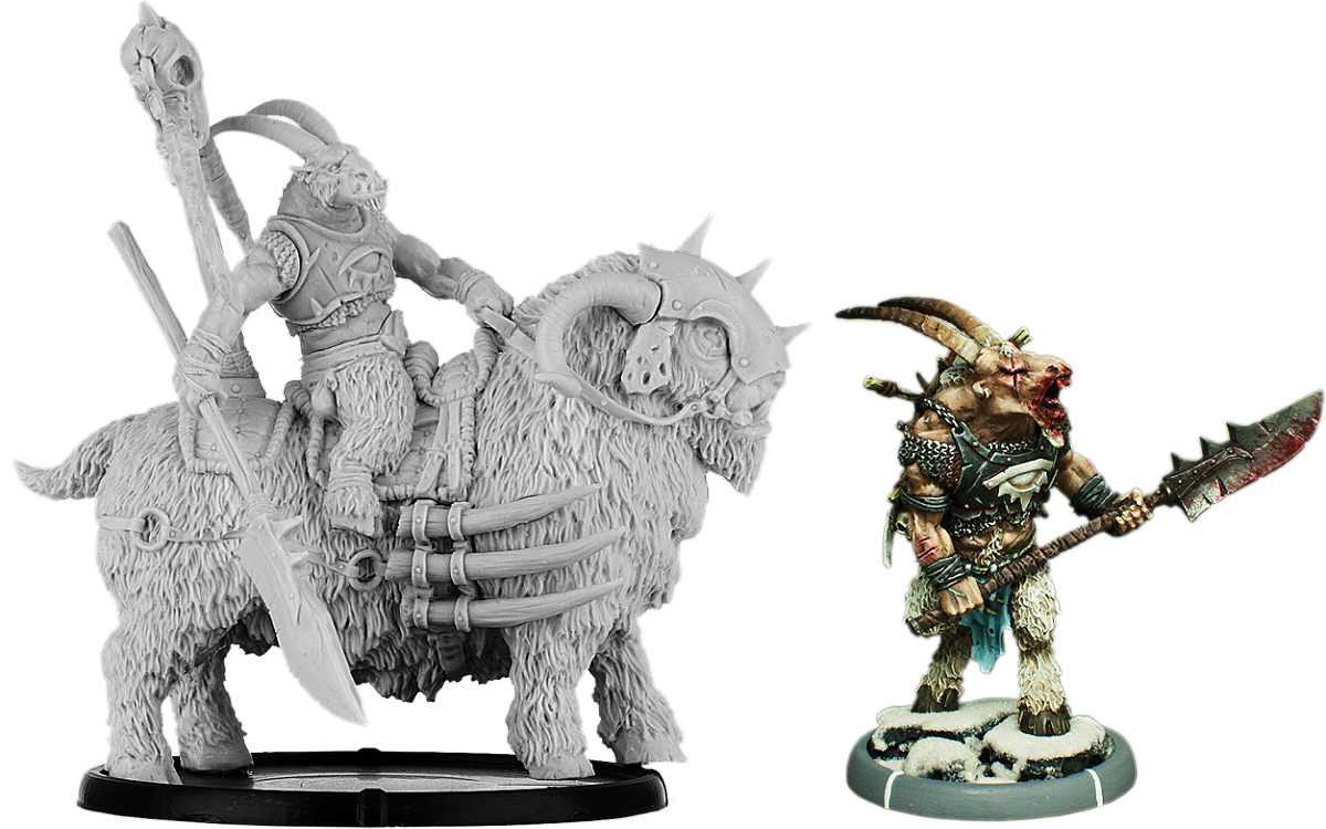 Darklands: Brunchaath The Vile, Gabrax Tain on Hoof & on Gooracx