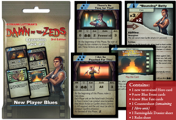 Dawn of the Zeds 3rd Edition: Expansion Pack 2- New Player Blues