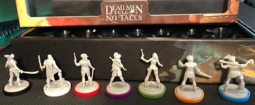 Dead Men Tell No Tales: Miniatures Pack