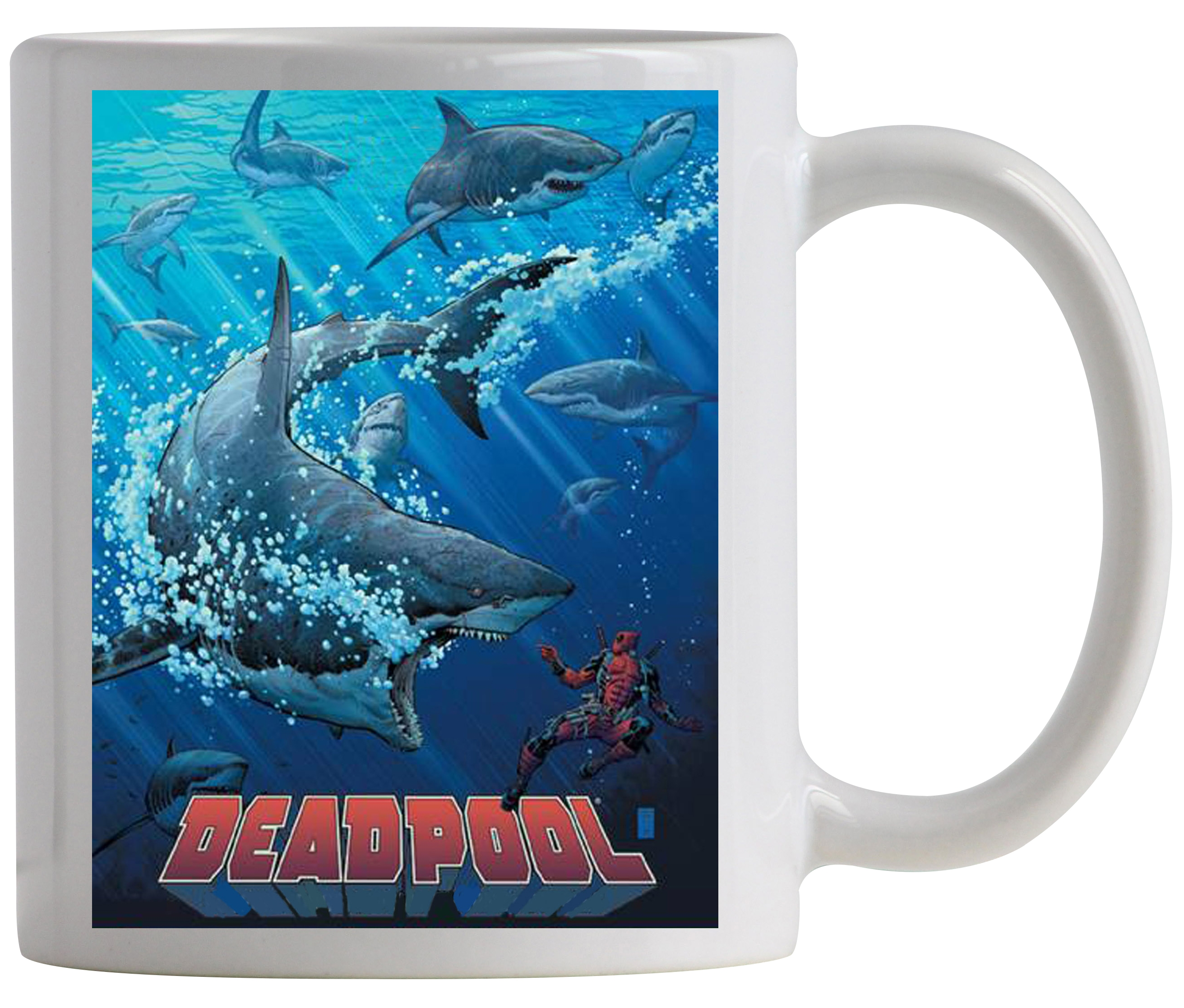 Deadpool- SHARK TANK PX COFFEE MUG (SALE)