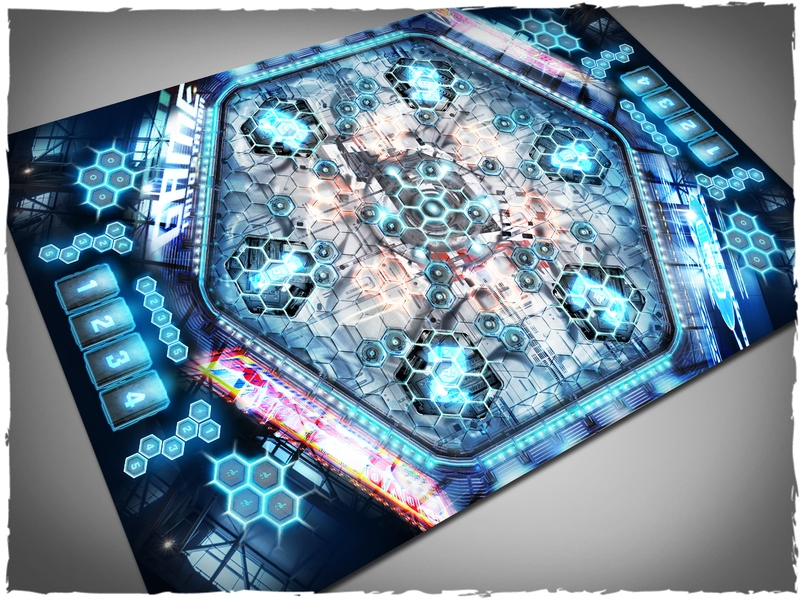 Deep Cut Studio Mat: Aristeia Arena #1