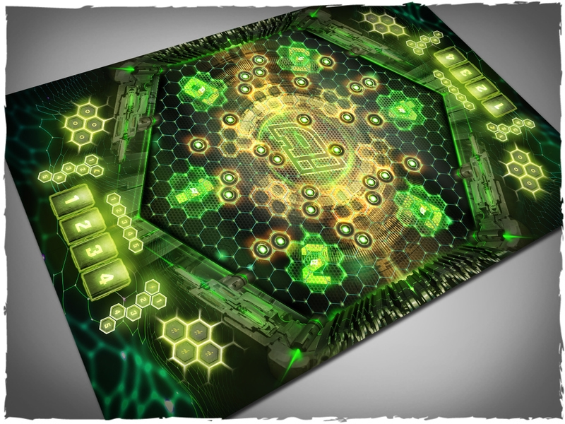 Deep Cut Studio Mat: Aristeia Arena #2