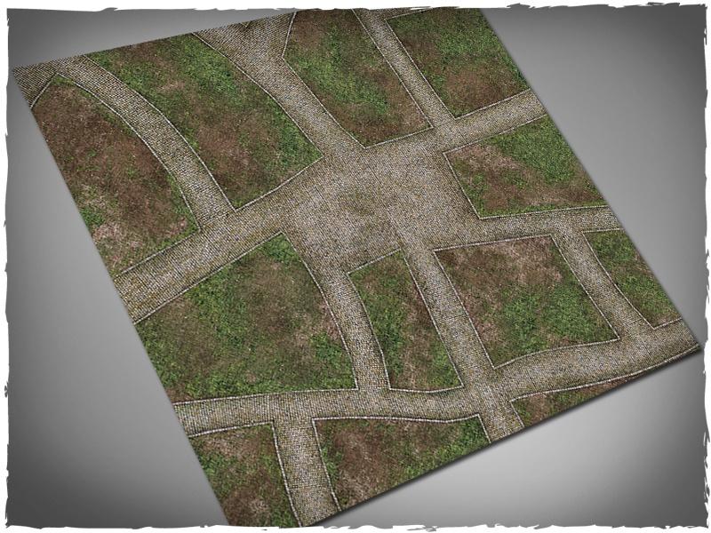 Deep Cut Studio - Deep Cut Studio Mat: Cobblestone Streets: 4x4