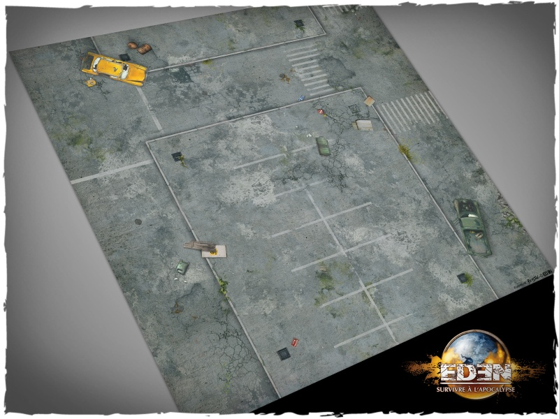 Deep Cut Studio Mat: Eden #2 2x2 (Mousepad)