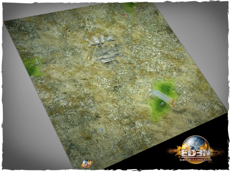 Deep Cut Studio Mat: Eden #3 2x2 (Mousepad)