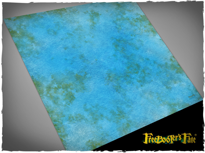 Deep Cut Studio Mat: Freebooters Fate- Lake/Ocean 3x3 (Mousepad)