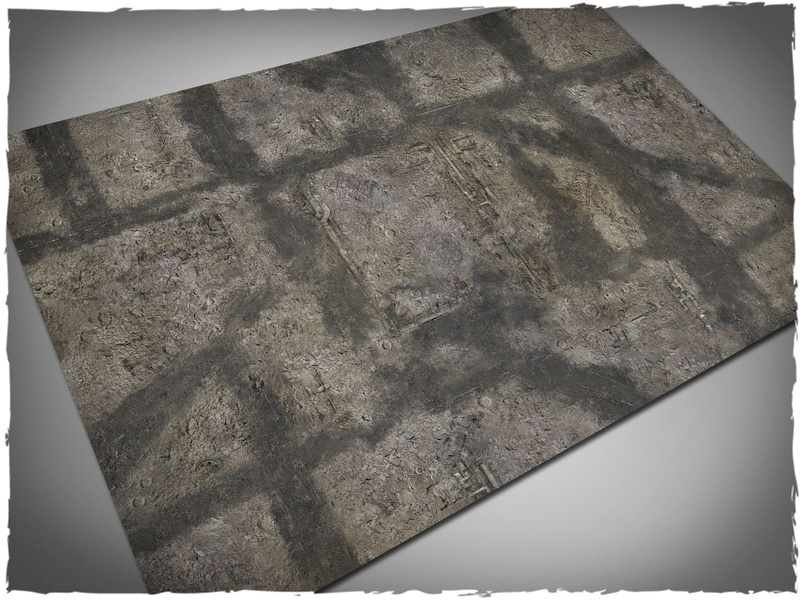 Deep Cut Studio Mat: Gothic Ruins: 6x4 (Cloth)