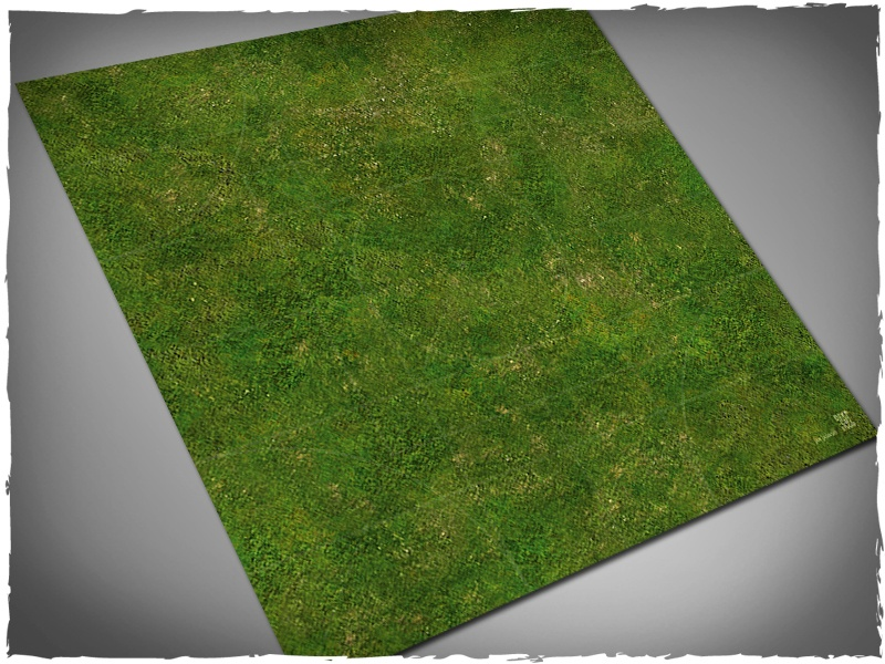 Deep Cut Studio Mat: Malifaux- Grass: 3x3 Mousepad