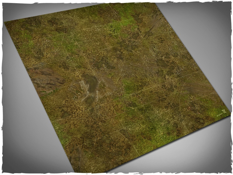 Deep Cut Studio Mat: Malifaux- Muddy Fields: 3x3 Mousepad