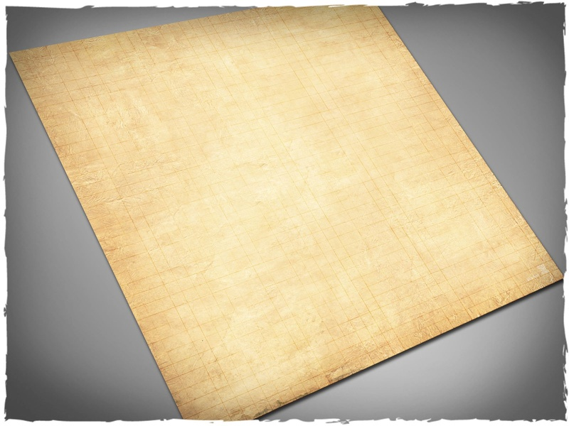 Deep Cut Studio Mat: RPG Parchment: 3x3 (Mousepad)