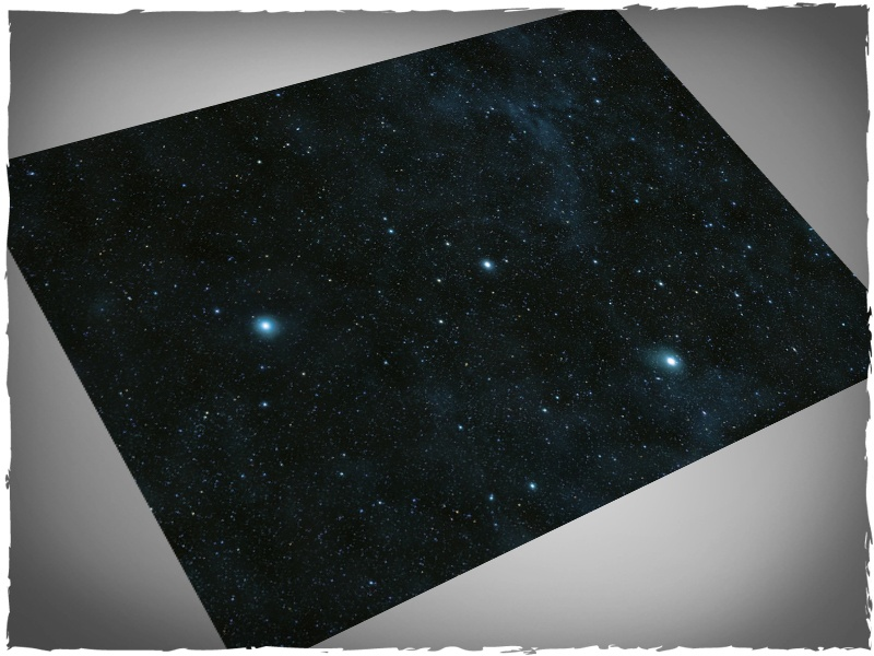 "Deep Cut Studio Mat: Stars: 4x6 -1.25"" Hexes (Mousepad)"